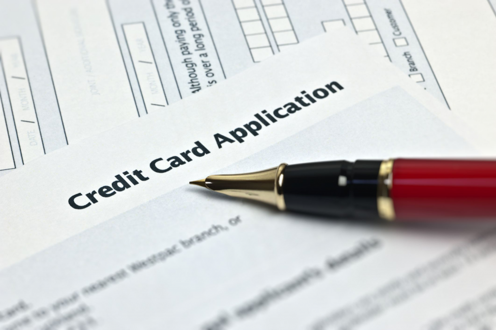 apply for a regular credit card