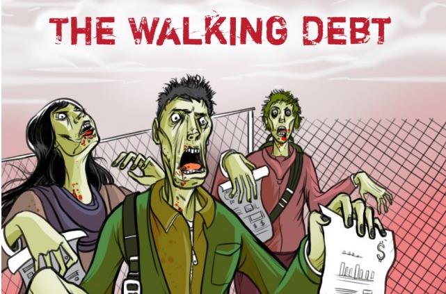 the walking debt
